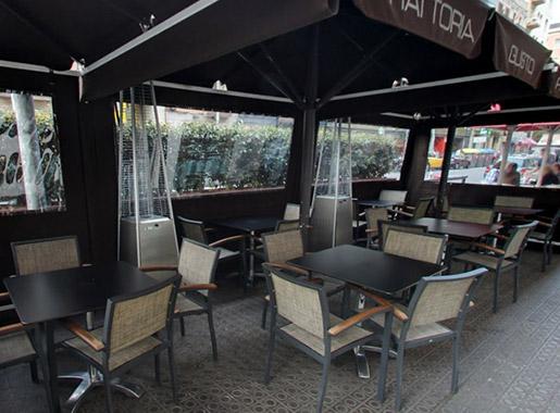 restaurante gusto barcelona terraza