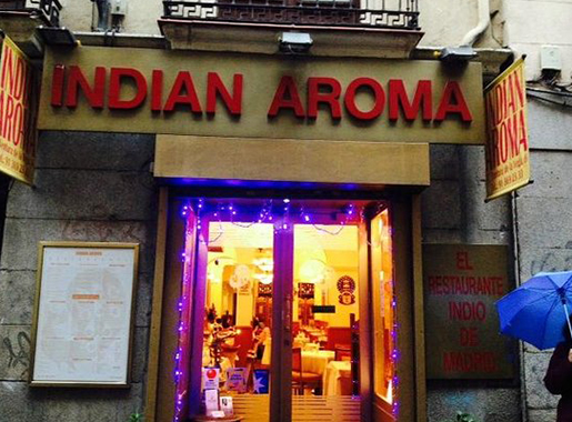 indian aroma entrada madrid