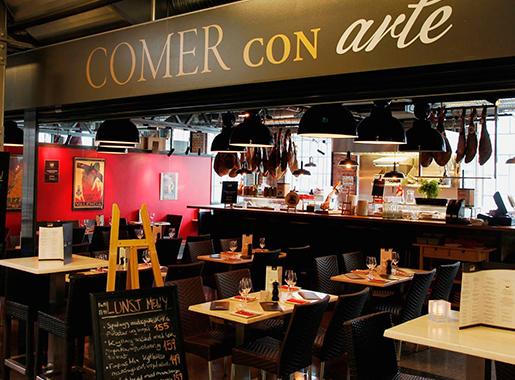 ComerConArte Sevilla Barra