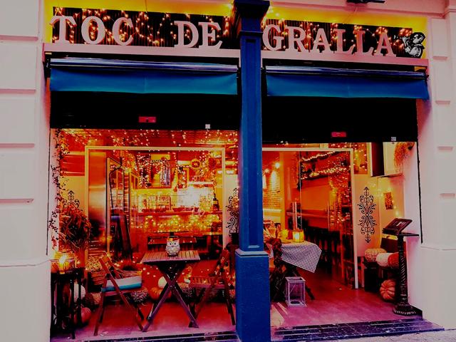 restaurante toc de gralla barcelona entrada