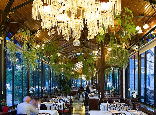 Restauranis Espejo Nouveau sala3
