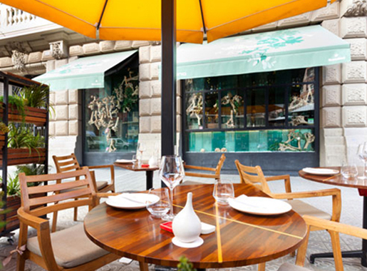 terraza ikibana paralelo barcelona