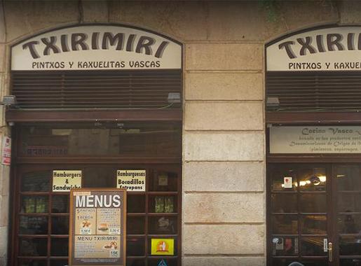entrada txirimiri barcelona