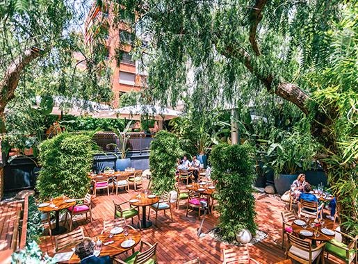 na sarria terraza restauranis