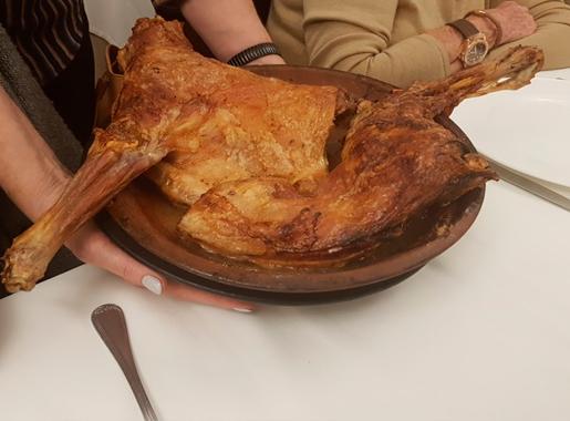 plato asador