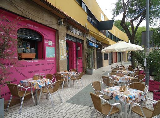 Capricho Sevilla Terraza
