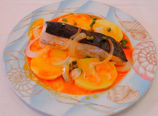 uranis compostela c2 pescado en salsa