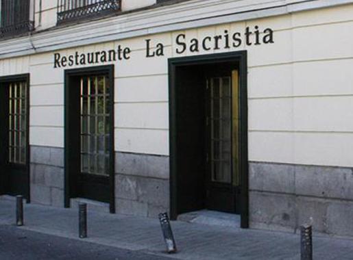 entrada la sacristia madrid
